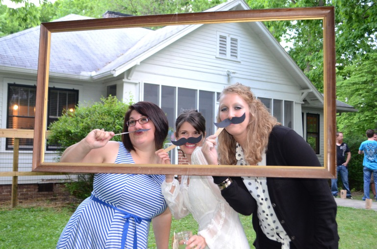 Frame + Mustaches