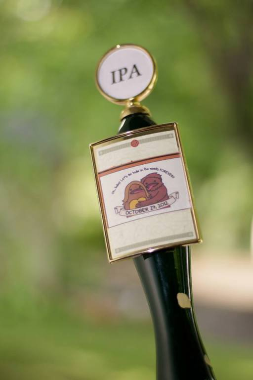 Curtesy of the Downtown Grill and Brewery, a pony keg of India Pale Ale.